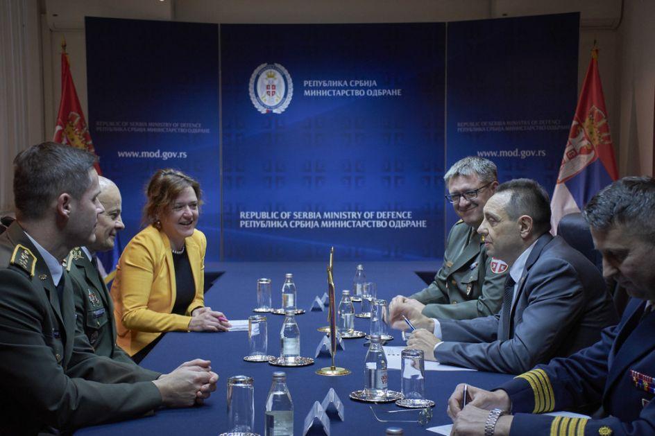 Unapređenje vojne saradnje sa Slovačkom