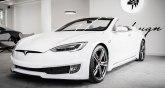 Unikat  Tesla bez krova