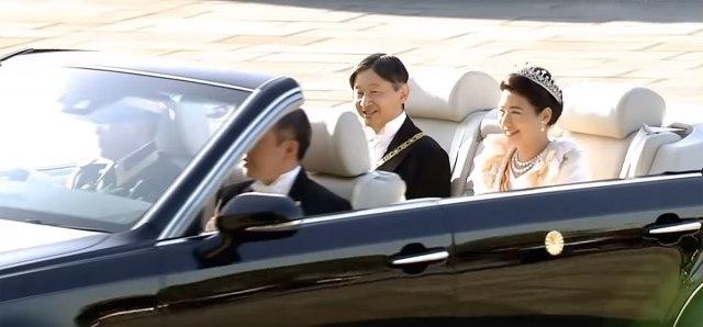 Unikatna carska Toyota: Naruhito se provozao u novom kabrioletu VIDEO