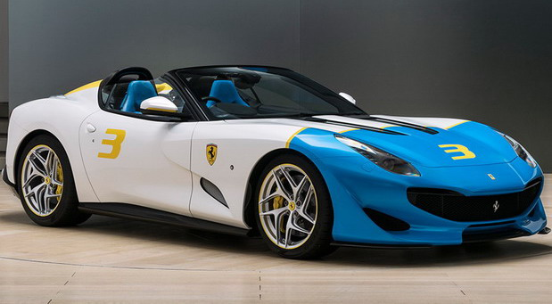 Unikatni Ferrari SP3JC