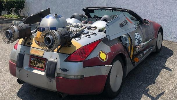 Unikatni Nissan 350Z inspirisan Ratovima Zvezda