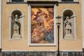 Uništena freska na katedrali Svetog Nikole u Ljubljani FOTO