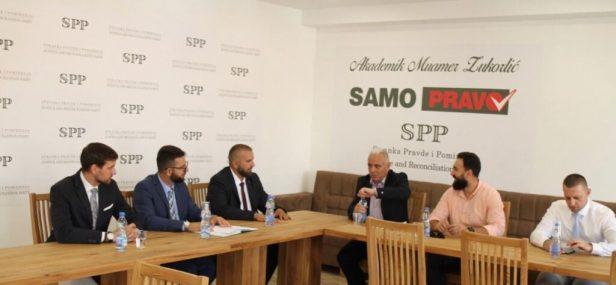 Upriličeni razgovori delegacija SPP i SDA