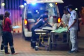 Upucan muškarac u Beogradu