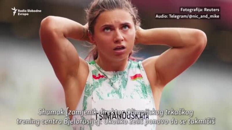 Uradila si glupu stvar: Vođe bjeloruske atletike kažu sprinterki da napusti Olimpijadu