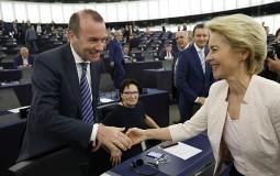 Ursula fon der Lajen predstavila evroposlanicima svoju viziju EU