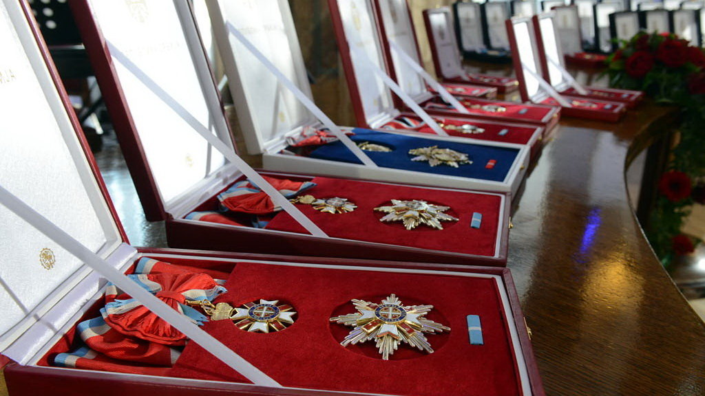 Uručen orden narodnog heroja Petru Matiću