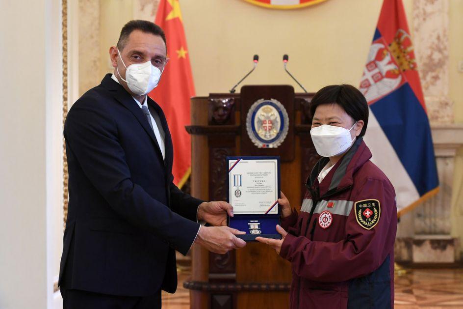 Uručena najviša vojna priznanja pripadnicima kineskog lekarskog tima