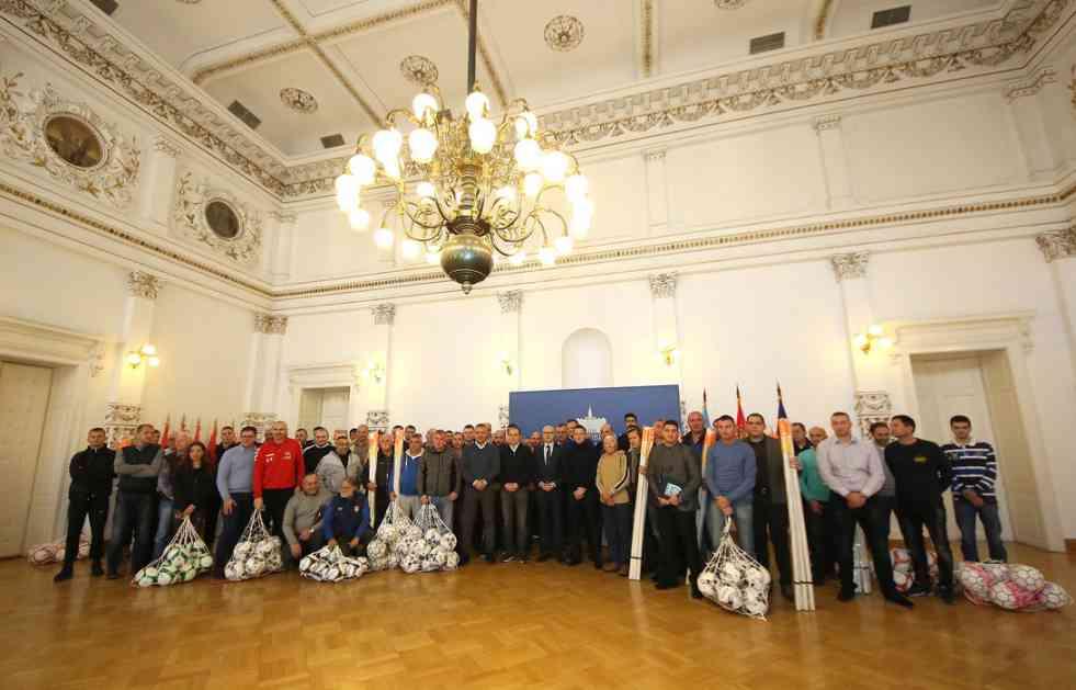Uručena oprema klubovima Fudbalskog saveza Grada Novog Sada