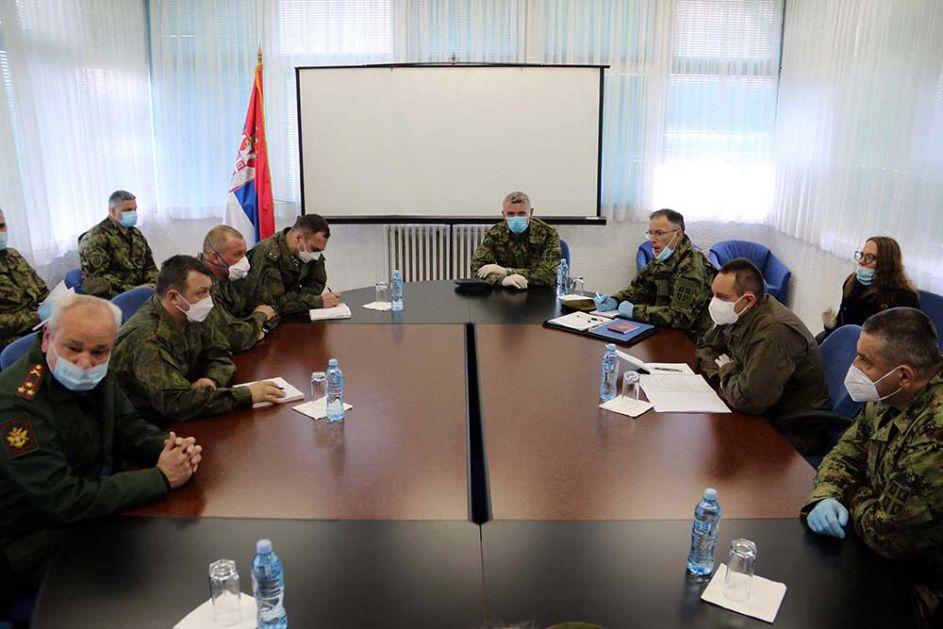 Usaglašeni planovi angažovanja vojnih timova Ruske Federacije u Srbiji
