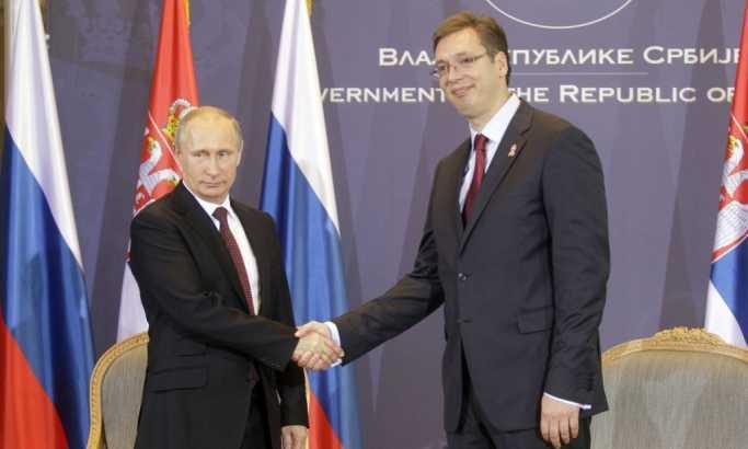Ušakov: Glavna tema sastanka Putina i Vučića - kosovski problem