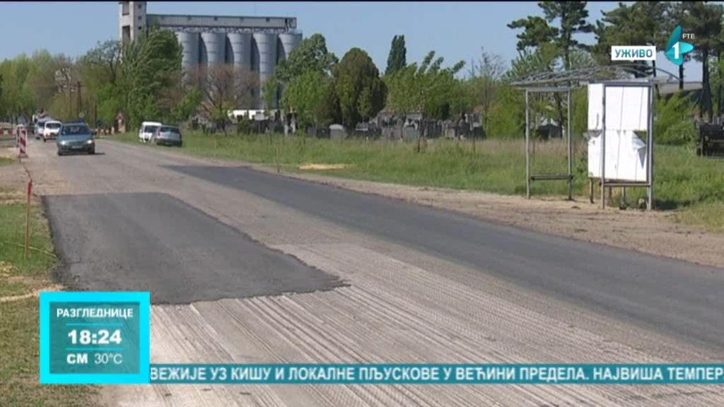 Uskoro kreće obnova državnog puta između Kikinde i sela Nakovo