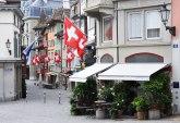Ustaški simboli ispisani na zgradi konzulata Srbije u Cirihu