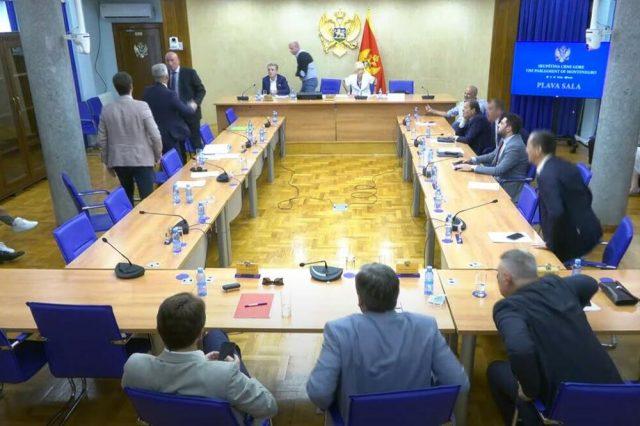 Uvrede i zaletanja na sednici Odbora za bezbednost i odbranu Crne Gore