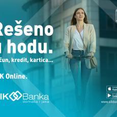 Uz AIK Banku rešavate sve u hodu!