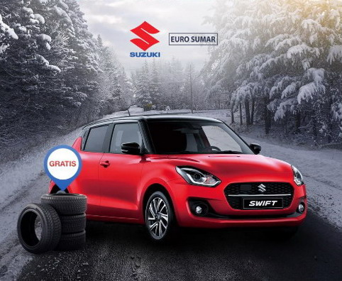 Uz Suzuki Swift Elegance novogodišnji poklon u vidu seta zimskih guma