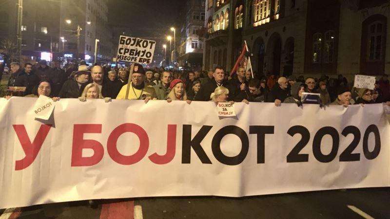 Beograd: Protestna šetnja kao podrška uzbunjivačima
