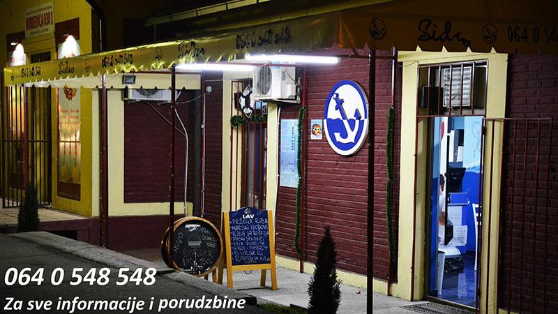 """Uživajte u omiljenim specijalitetima kod kuće: Fish bar """"SIDRO"""" i kafe """"New 501"""" vrše dostavu na teritoriji grada Bora"""