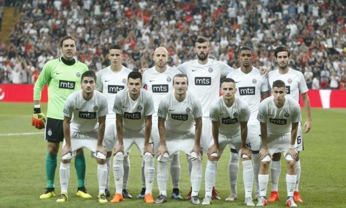Uživo: Bešiktaš - Partizan 3:0