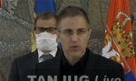 VANREDNO OBRAĆANjE Stefanović: Policija je bila izložena linču