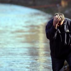 VARDAR POSTAO CRVEN: Nadležne službe ne mogu da otkriju šta se desilo (FOTO)