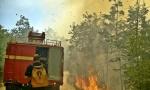 VATRENI OBRUČ OKO PODGORICE: Tokom noći gašeno 15 požara, aktivan i dalje u Blizni