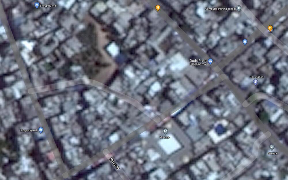 VAŽAN FAKTOR IZVEŠTAVANJA SUKOBA: Zašto je područje Gaze i Izraela mutno na Gugl mapi? FOTO