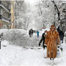 VEJE U PRESTONICI, SNEG PROBUDIO BEOGRAĐANE: Koliko će padati i kakve će biti temperature?