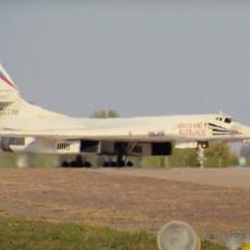 VELIČANSTVENA PREDSTAVA RUSKOG BELOG LABUDA: Najbrži bombarder na svetu preleteo ceo Sibir bez zaustavljanja (VIDEO)