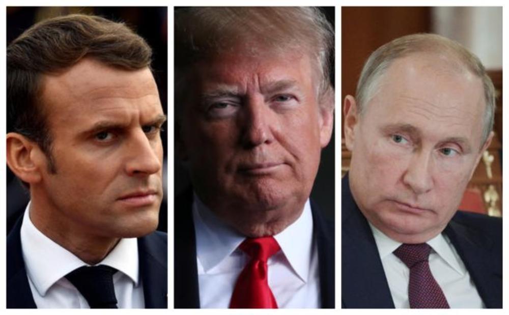UŽIVO SVET OBELEŽAVA VEK OD KRAJA PRVOG SVETSKOG RATA: Putin i Tramp za ISTIM STOLOM na ručku u Jelisejskoj palati (FOTO, VIDEO)
