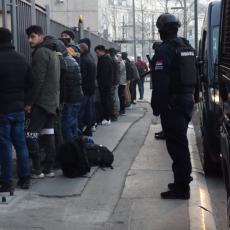 VELIKA AKCIJA BEOGRADSKE POLICIJE: Pronađena 52 iregularna migranta, poznato gde su se skrivali (VIDEO)