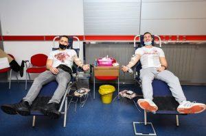 VELIKA AKCIJA ZVEZDE: Navijači crveno-belih prikupili 207 jedinica krvi (VIDEO)
