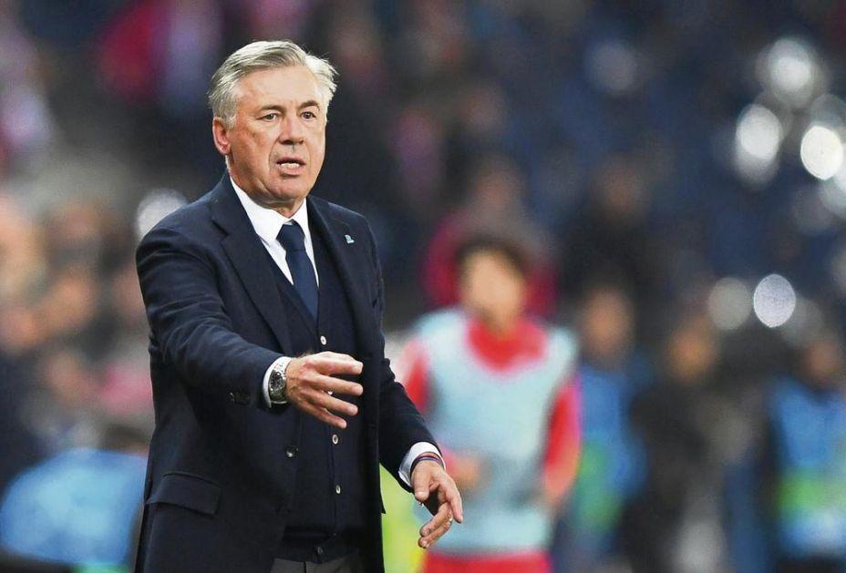 VELIKI KARLO ANĆELOTI: Legendarni trener pozvao navijača Evertona zaraženog koronom: Ćao Mark, kako si? VIDEO
