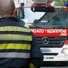 VELIKI POŽAR U BORČI: Vatrogasci iz kuće izvukli telo nesrećnog čoveka