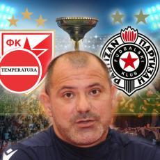VELIKI PROBLEM ZA STANKOVIĆA: Tandem neočekivano PRESKAČE Partizan!