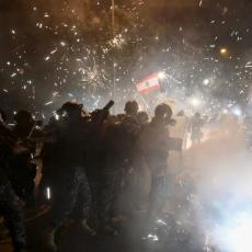 VELIKI SUKOBI POLICIJE I DEMONSTRANATA U BEJRUTU: Izvedena vojska, povređeno najmanje 75 ljudi (VIDEO)