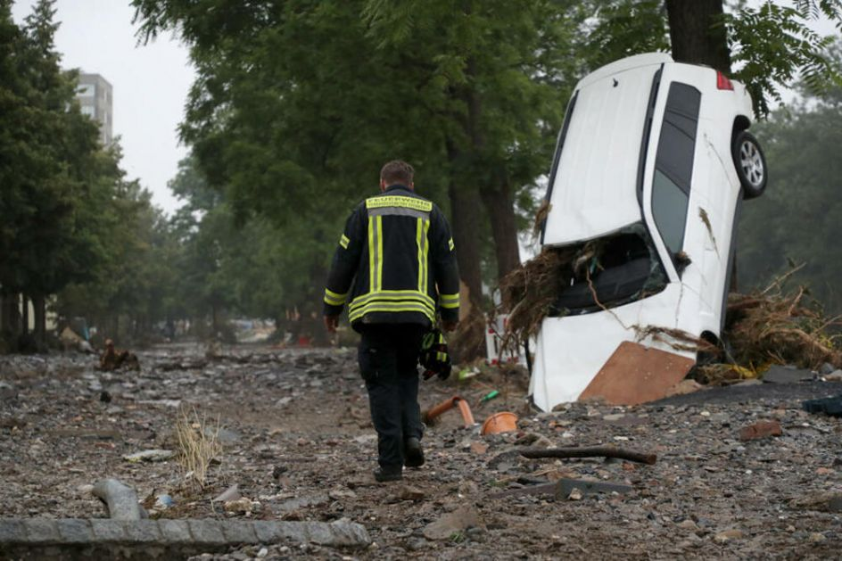 VELIKO SRCE NEMAČKOG PREDSEDNIKA: Prikupio 30.000 evra za region devastiran poplavama, ali mu to nije bilo dovoljno VIDEO