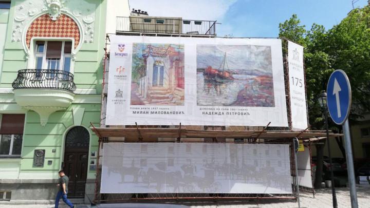 VESIĆ: Narednih meseci u užem centru Beograda i centru starog jezgra Zemuna obnovićemo više od 90 fasada zgrada (FOTO)