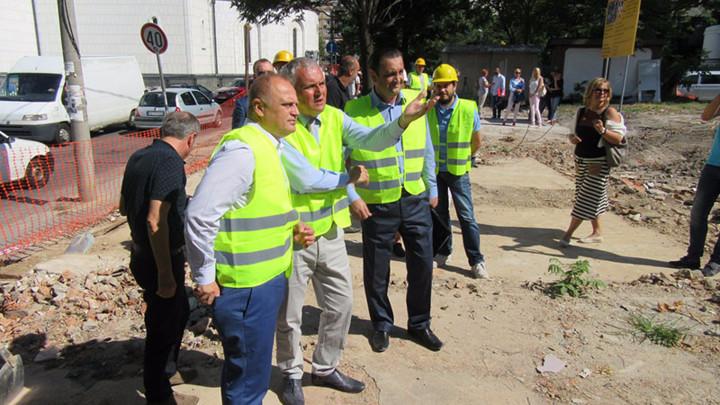 VESIĆ: Počela rekonstrukcija ulice Bore Stankovića