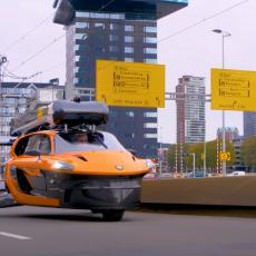 VEŽITE SE, POLEĆEMO! Legazilovani prvi leteći automobili (VIDEO)