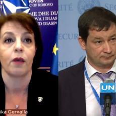 VI NISTE DRŽAVA, VI STE TERITORIJA: Kvazi ministarka iz Prištine optužila Srbiju za genocid, a onda ju je RUS OBUZDAO