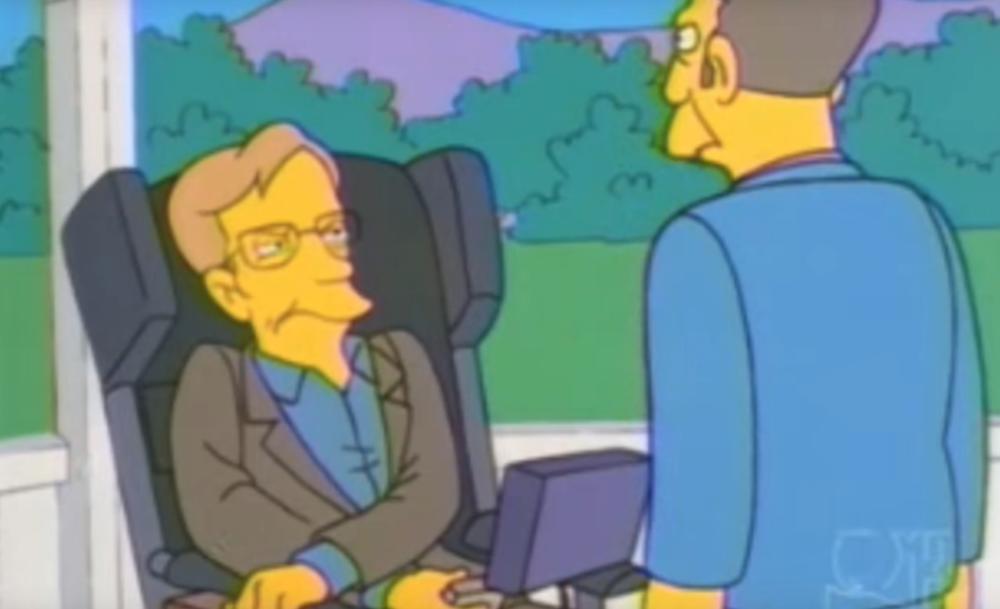 (VIDEO) BESKRAJNO DUHOVIT BLISTAVI UM: Zbog uloga u Simpsonovima i Štreberima Stivena Hokinga je zavoleo ceo svet