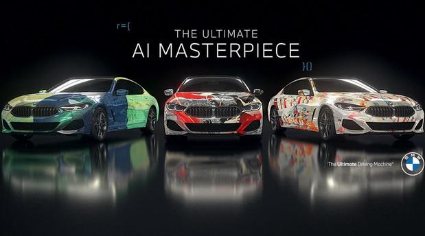 VIDEO: BMW 8 Series Gran Coupe Art Car