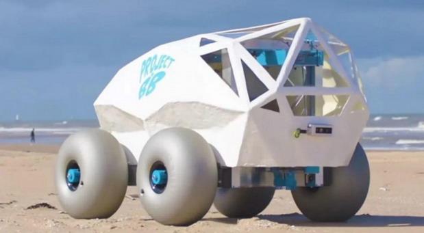 VIDEO: Beach Bot je autonomni robot koji 'češlja' plažu i skuplja opuške