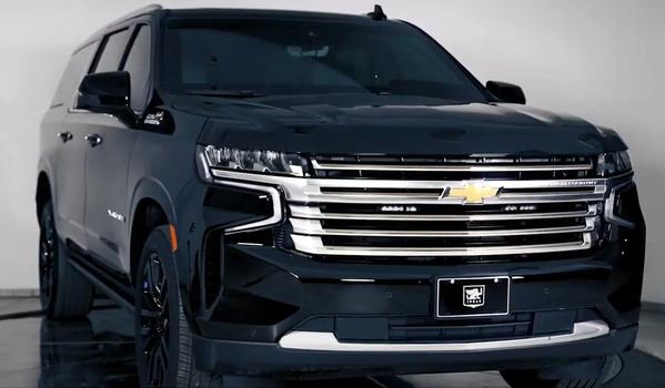 VIDEO: Blindirani INKAS Chevrolet Suburban