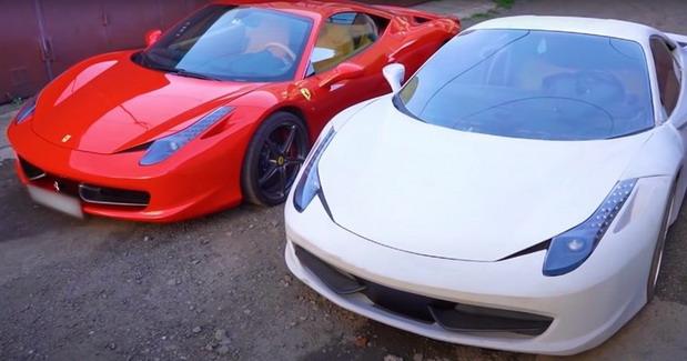 VIDEO: Ferrari 458 i njegova kopija