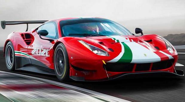 VIDEO: Ferrari 488 GT3 Evo