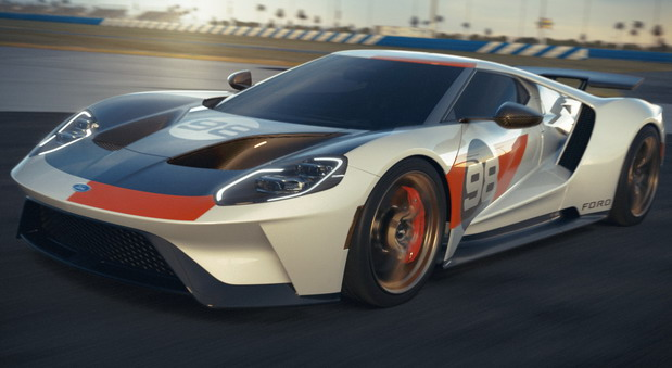 VIDEO: Ford GT Heritage Edition
