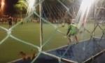 VIDEO: Golman je bio savladan, lopta je išla u gol, a onda se pojavio - pas!