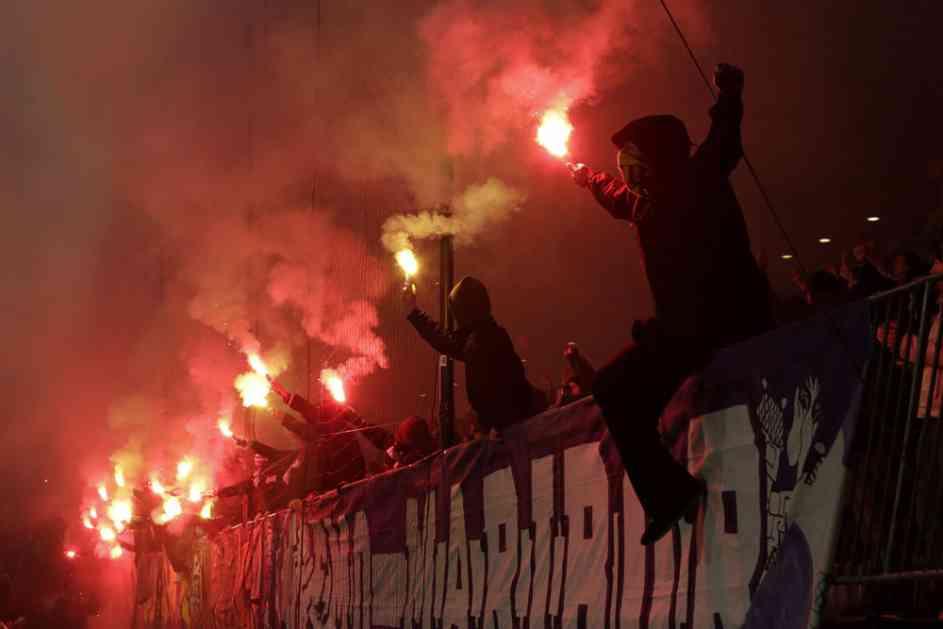 (VIDEO) HAOS U SLOVENIJI: Pogledajte obračun navijača Maribora i policije